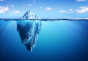 IJsberg kleinere bestandsgrootte
