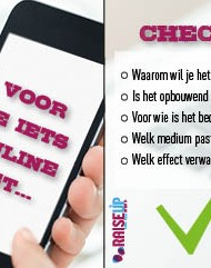 Checklist sociale media