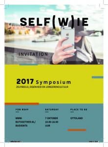 Symposium Selfwie flyer voorkant
