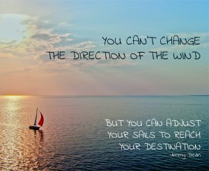 You can't change the direction of the wind - insta-01
