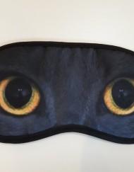 Blinddoek zwarte kat
